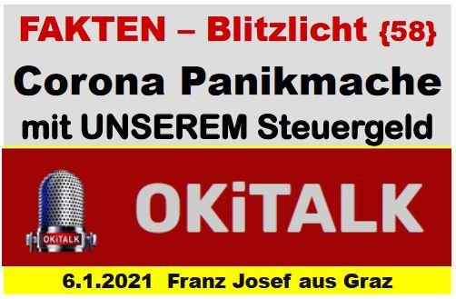 FAKTEN-BLITZLICHT 58 - 06.01.2021