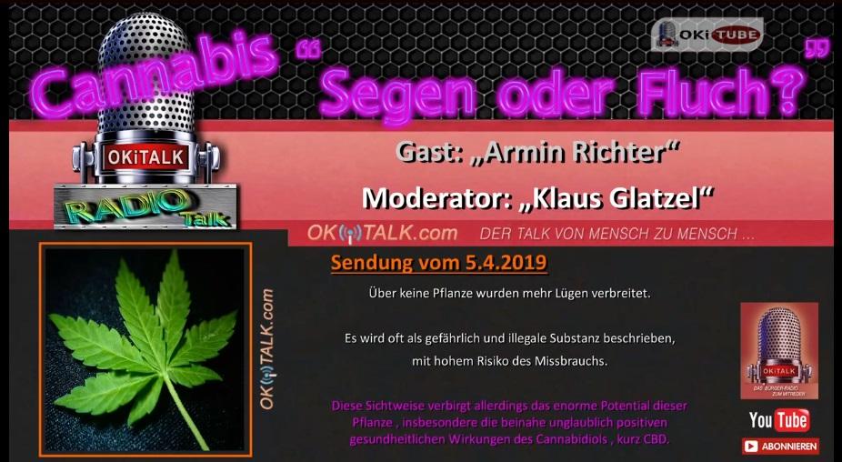 2019-04-05 Cannabis Segen oder Fluch - Armin Richter