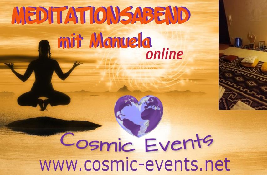 Cosmic Society Meditation online mit Manuela: Erkennen - Loslassen - Vergeben - zeigt neue Lebenswege