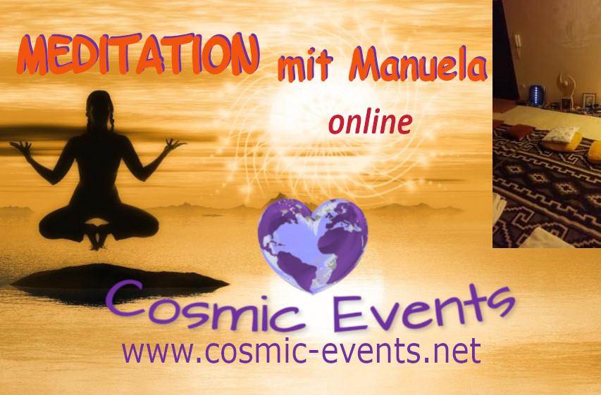 Cosmic Society Meditation online  mit Manuela:  Erkennen – Loslassen -Vergeben – zeigt neue Lebenswege