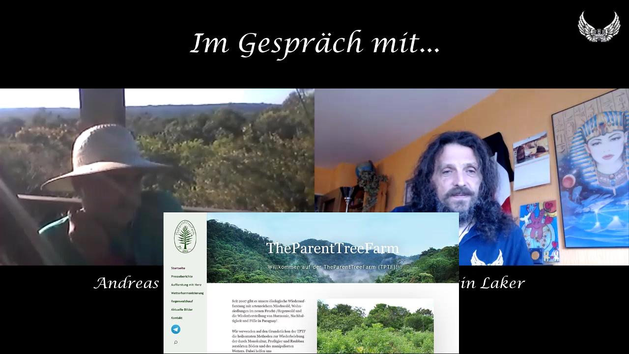 Im Gespräch mit... Andreas Pfeifer / Aufforstung des Regenwaldes mit der Parent Tree Farm