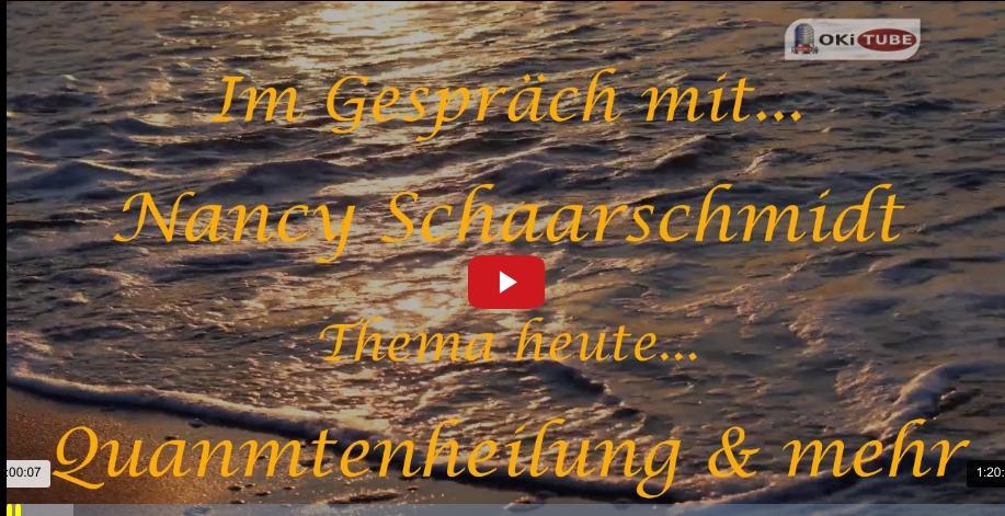 Im Gespräch mit... Nancy Schaarschmidt / Quantenheilung & mehr