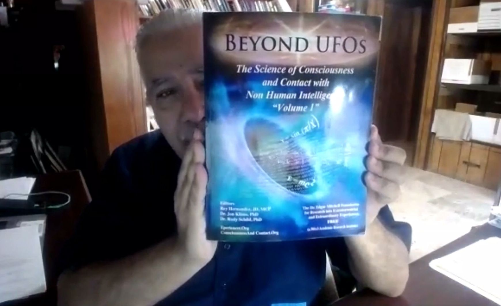 Interview Gerhard Praher mit Rey Hernandez:  Beyond UFOs, Mitbegründer von FREE (The Dr. Edgar Mitchell Foundation for Research into Extraterrestrial Encounters)