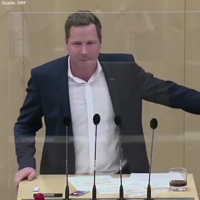 Cola testet positiv im Parlament - NRA Schnedlitz