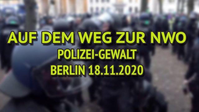 Auf dem Weg zur NWO! ++ Polizeigewalt