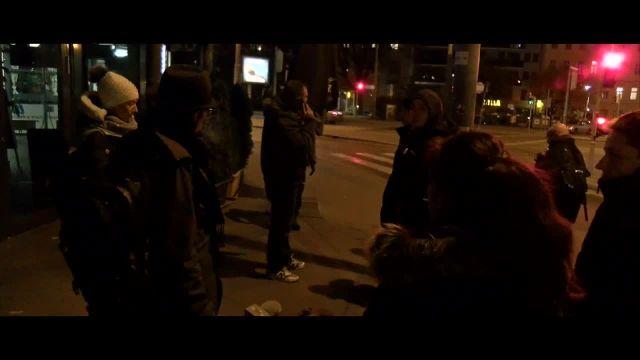 Haben Sie Wien schon bei Nacht gesehen? Spaziergang durch Wien ++ 13.11.2020