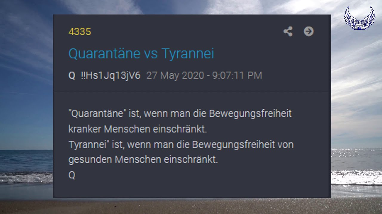 Engelsburger Neuigkeiten für den 31. Mai 7528 n.E.F.S.T.: Quarantäne vs. Tyrannei, Q-Drops & Co.