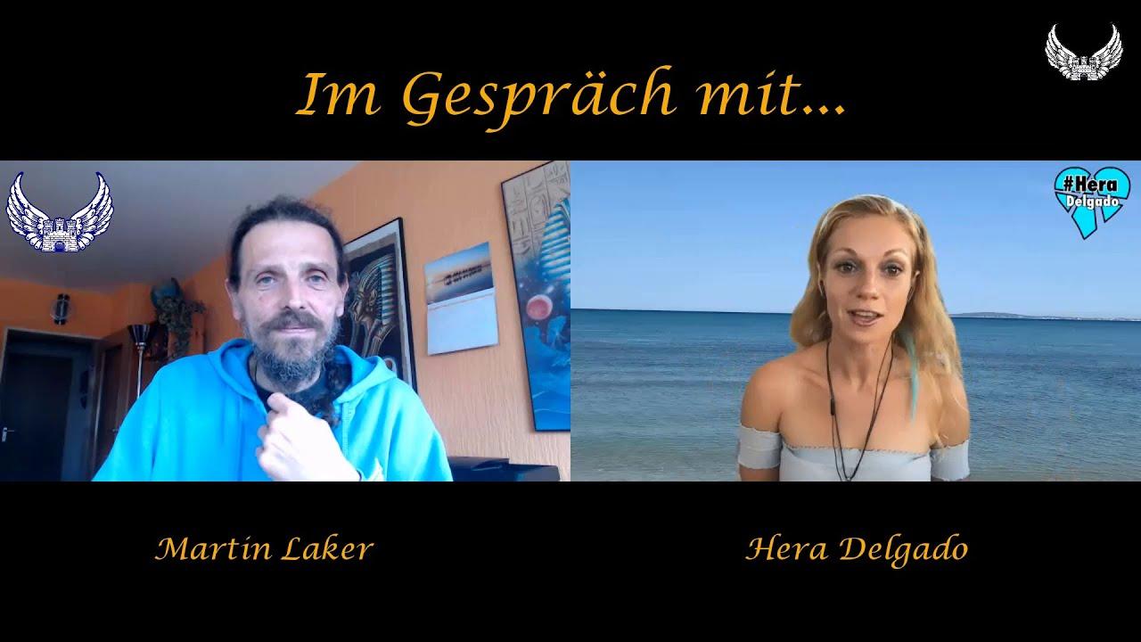 Im Gespräch mit... Hera Delgado / Thema: Spiritualität & Zeitgeschehen.