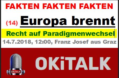 EUROPA BRENNT - Teil 8 - Paradigmenwechsel - hin zur Herrschaft des RECHTS