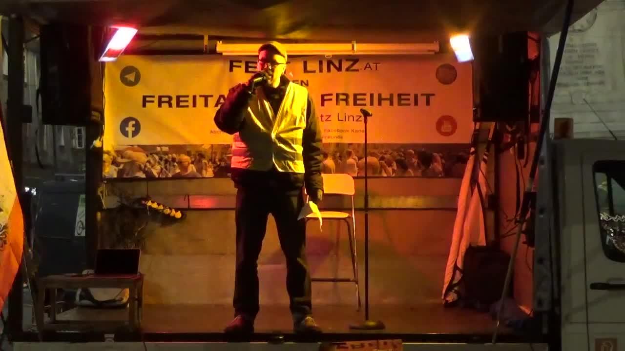 11-12-2020 ICH BIN FREI - Österreichischer Widerstand ist bei dem Irrsinn einfach nicht mitmachen
