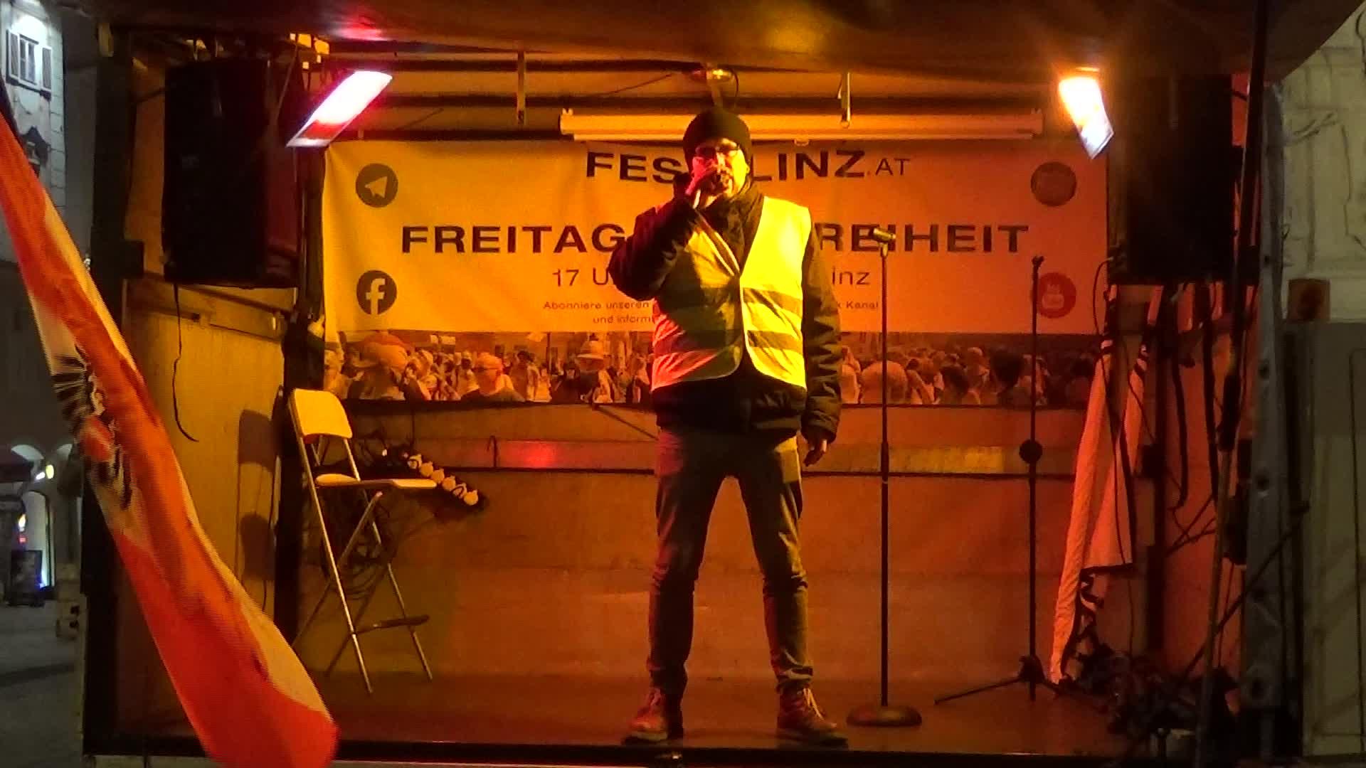 18.12.2020 - ICH BIN FREI - Linz - Lukas