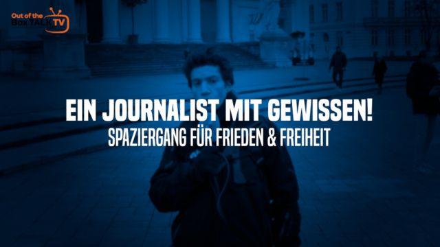 EIN JOURNALIST MIT GEWISSEN! #01 - Spaziergang für Freiheit und Menschenrechte - Wien, 2.1.2021