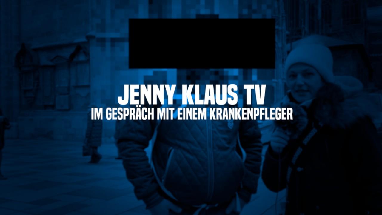 JENNY KLAUS - Im Gespräch mit einem Krankenpfleger