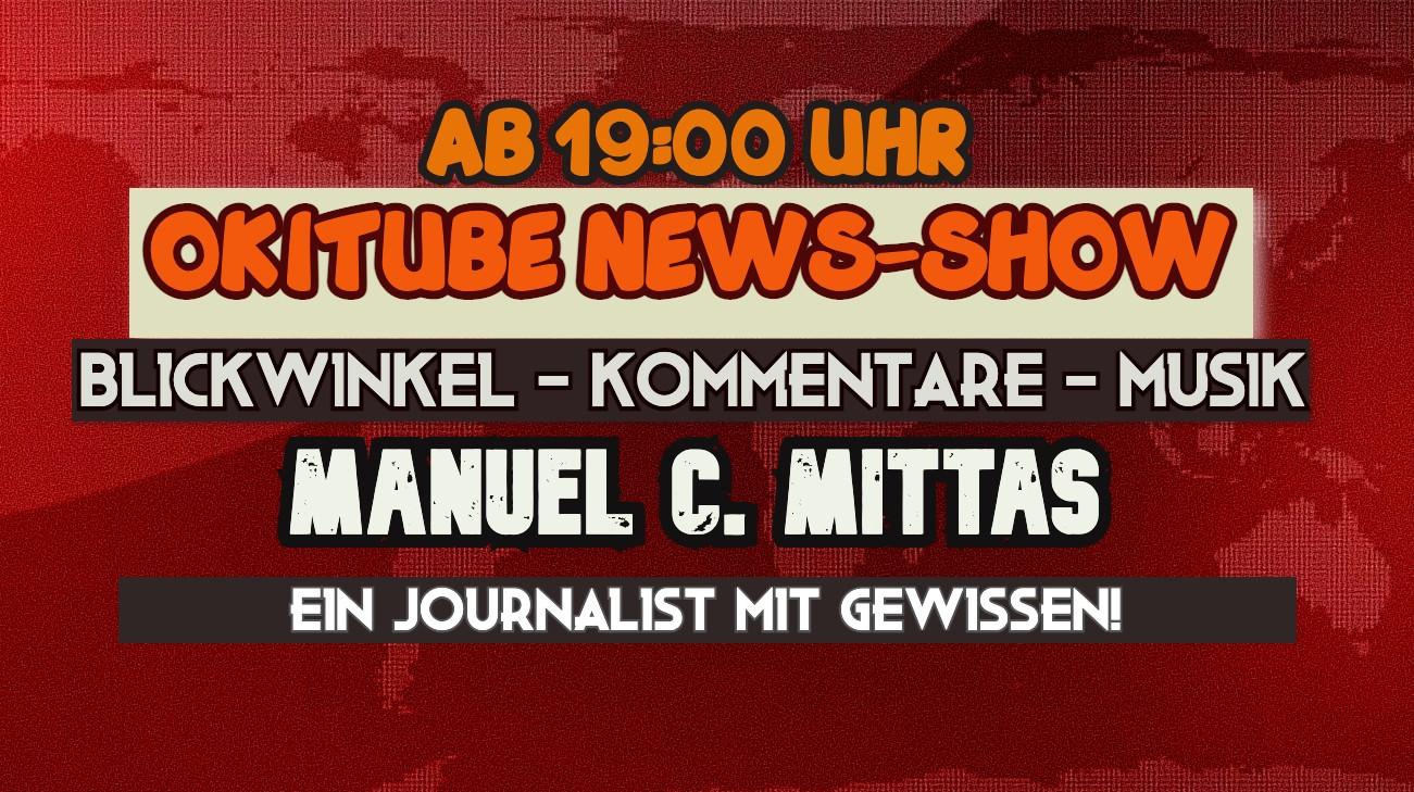 OKITUBE NEWS-SHOW + Blickwinkel, Kommentare, Musik