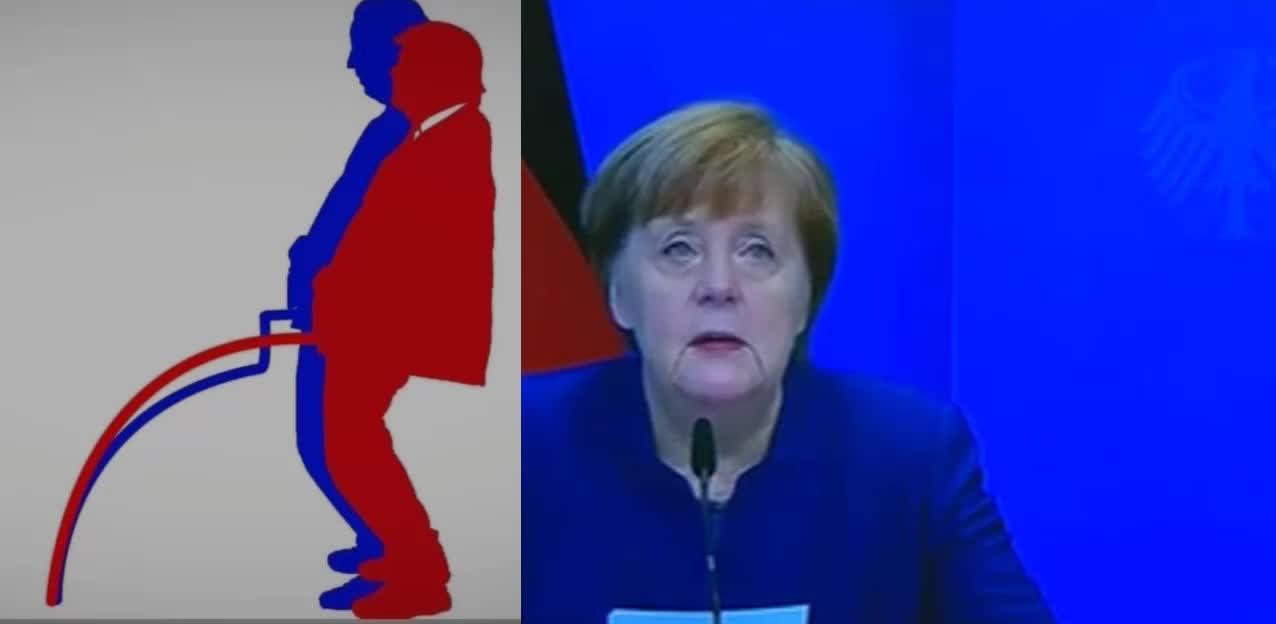 Merkel zur Demokratie und den EINLASS ins Kapitol l