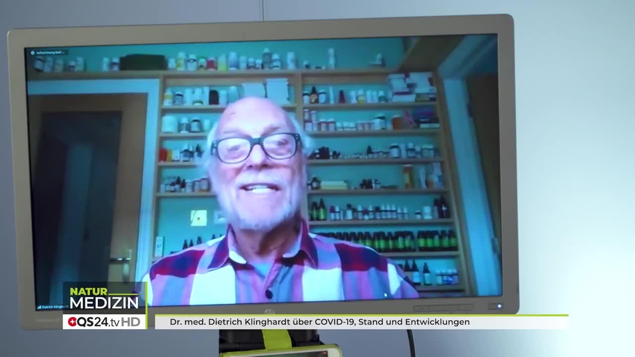 Dr  med  Dietrich Klinghardt über COVID 19, Stand und Entwicklungen  NaturMEDIZIN  QS24 07 05 2020