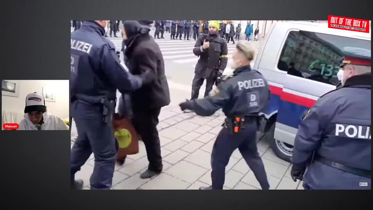 Polizeigewalt Wien - 23.1.2021