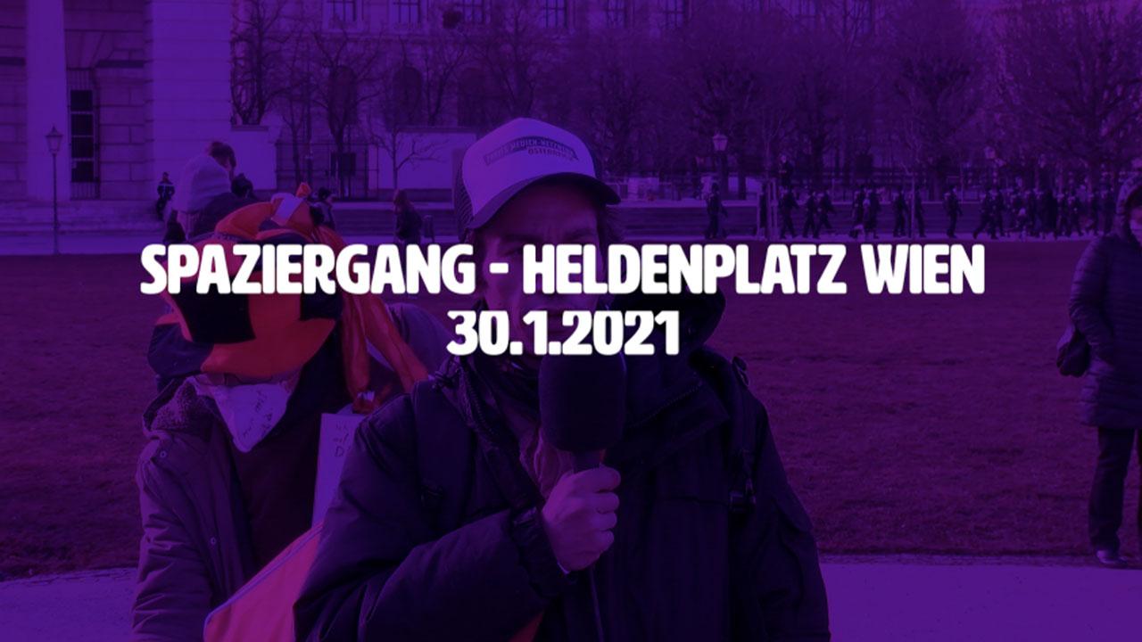 Spaziergang für Frieden und Grundrechte - Korrigierte Version! ++ 30.1.2021 - inklusive Interviews