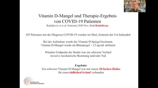 Mit der Vitamin D Offensive 2021 gegen Corona - COVID-19- – Ein Aufruf von Prof. Dr. med. Jörg Spitz