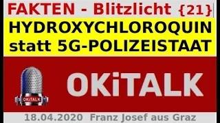 HYDROXYCHLOROQUIN statt 5G-POLIZEISTAAT