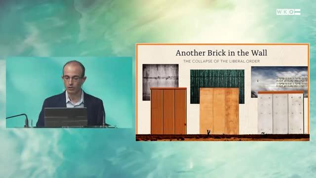 Yuval Noah Harari - Chancellor Sebastian Kurz in Conversatio