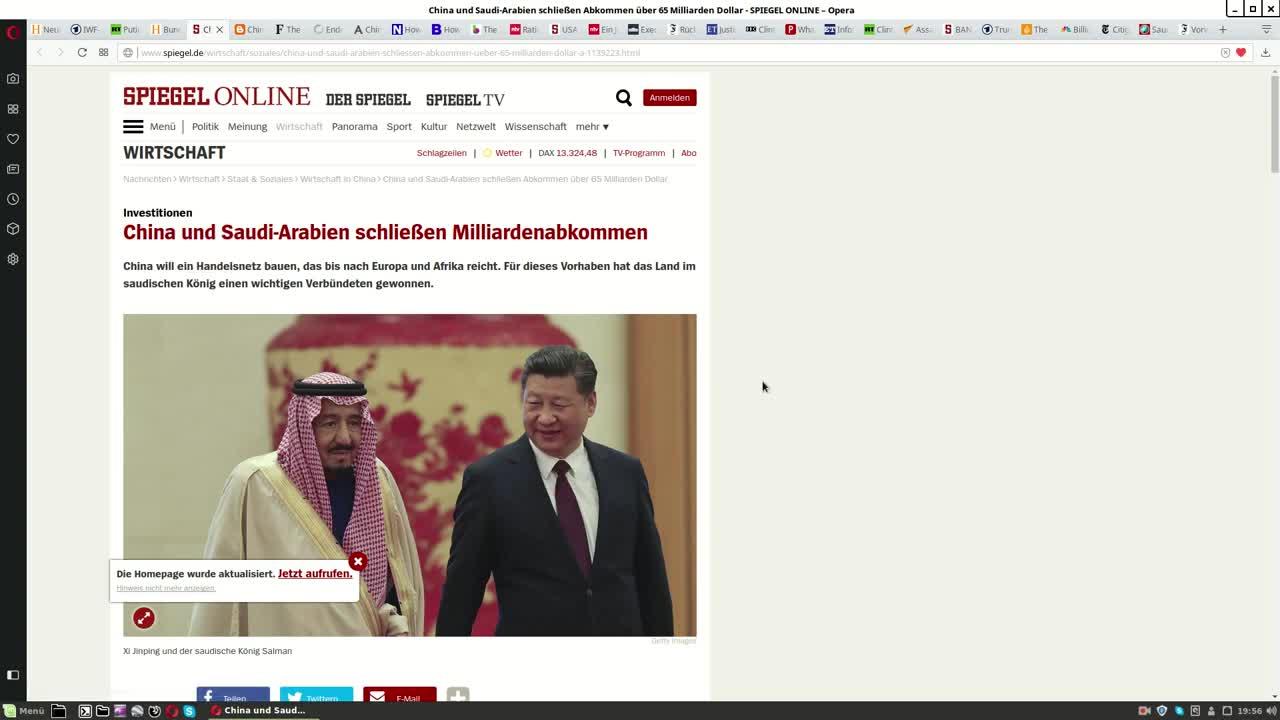 Weltpolitische Betrachtungen #1: Gold-Yuan, FISA und bin Salman