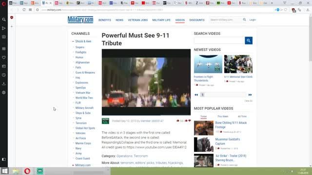 Verbinde die Punkte live! 17 Jahre später: Der 11.September 2001