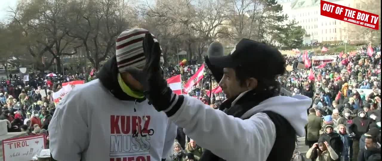 EIN JOURNALIST MIT GEWISSEN! #03 ++ Demo Wien 13.2.2021 - Eindrücke und Stimmen