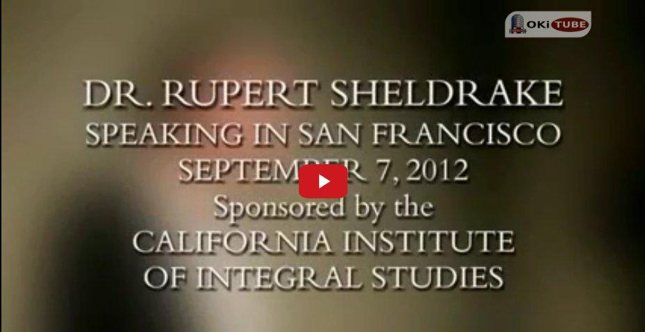 Die Befreiung der Wissenschaft - Rupert Sheldrake - Fakten & Mythen   ganzer Vortrag