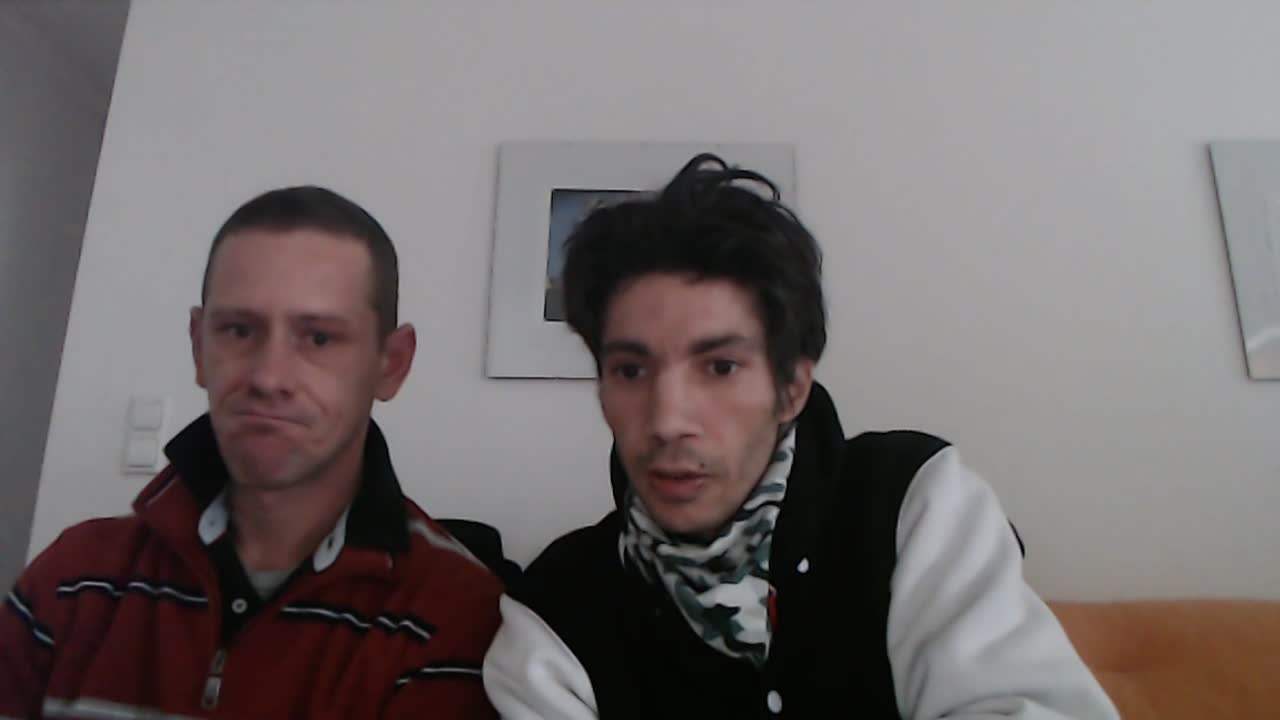 Oliver Zumann (Trolls of Vienna) und Manuel Mittas (damals TheFalseFlag) wieder vereint