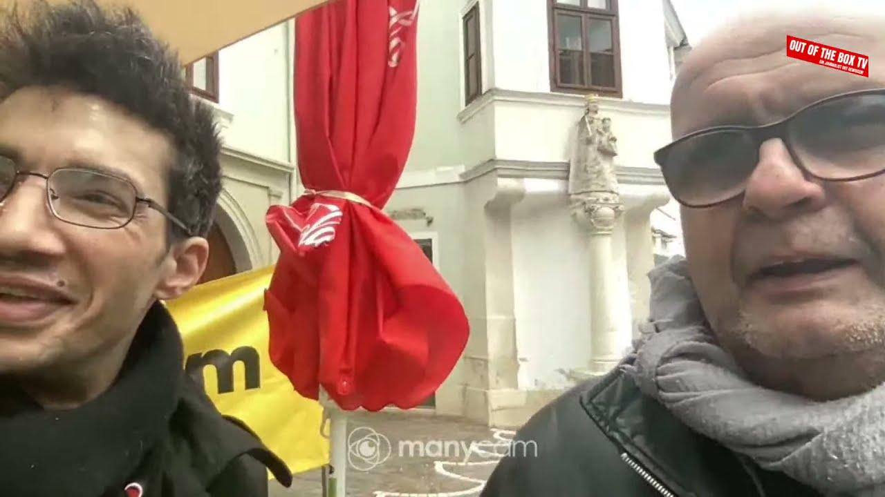 Das Wort zum Tage #28 ++ Auf Besuch beim Corona-Infostand in Eisenstadt