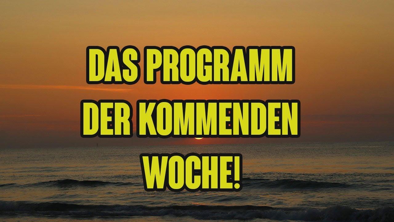 Das Programm der kommenden Tage, KonHell Akademie, Werner Altnickel, Klaus Glatzel