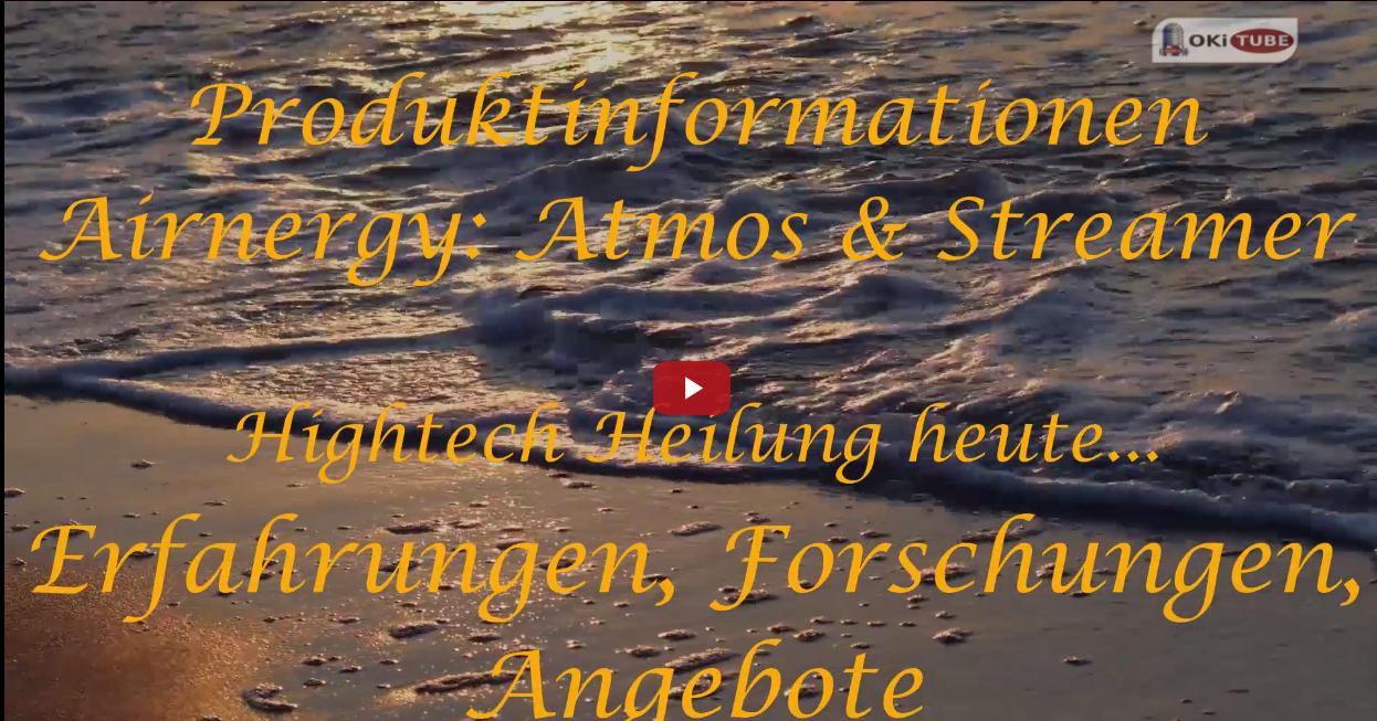 Produktinformationen und Forschungen zum Streamer und Little Atmos von Airnergy, Guido Bierther, Michael Sickelmann