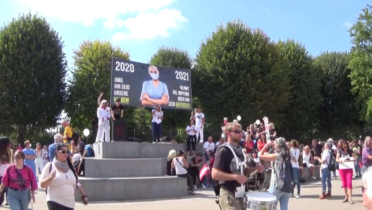 11.9.21 Wien Mediziner Demo - ungekürzte Rede von Katja Reithofer