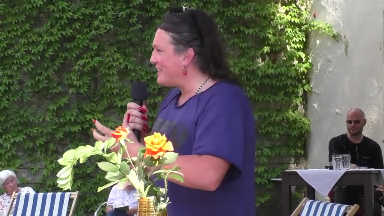 Monika Donner – Vortrag in Leoben, 21.08.2021